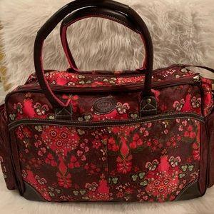 Floral Oilily Travel Bag